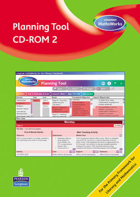 Longman MathsWorks: Year 2 Planning Tool CD-ROM Revised Version by Tony Cotton