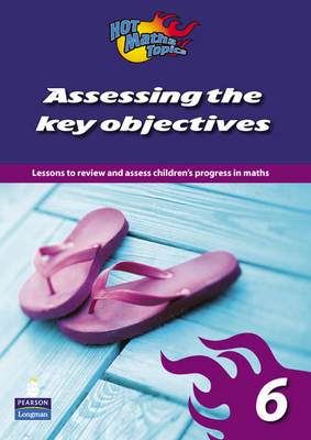 Hot Maths Topics: Assessing the Key Objectives 6 by Tony Cotton