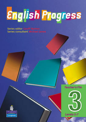 English Progress Teacher's File by Geoff Barton, Clare Constant, Emma Lee, Claire Austin-Macrae