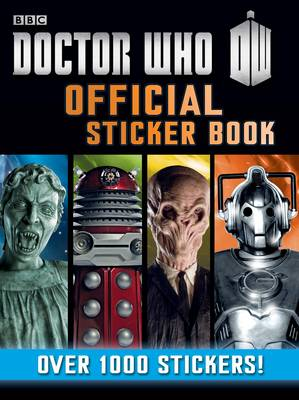 Doctor Who Official Sticker Book by
