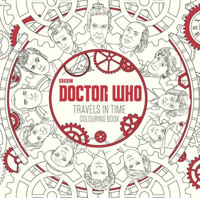 Doctor Who: Travels in Time Colouring Book by BBC