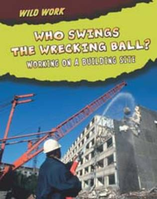 Who Swings the Wrecking Ball?: Working on a Building Site by Mary Meinking
