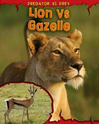 Lion vs Gazelle by Mary Meinking