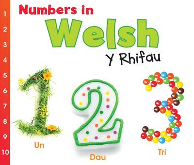 Numbers in Welsh Y Rhifau by Daniel Nunn