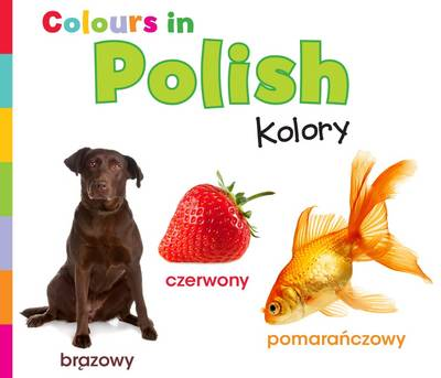 Colours in Polish Kolory by Daniel Nunn