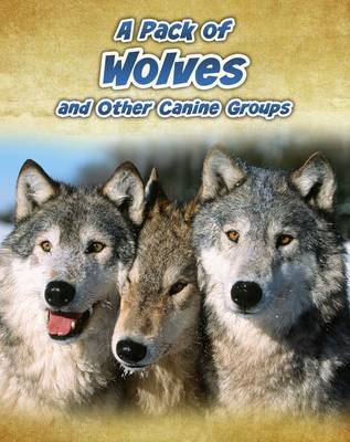 A Pack of Wolves and Other Canine Groups by Anna Claybourne