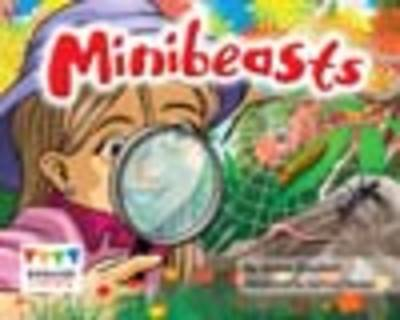 Minibeasts (6 Pack) by Anne Giulieri