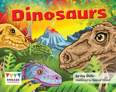 Dinosaurs (6 Pack) by Jay Dale