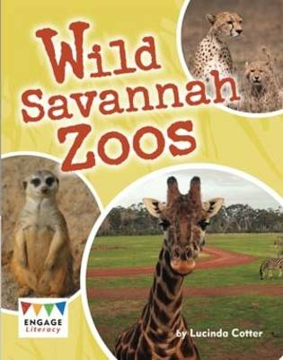 Wild Savannah Zoos Pack of 6 by Lucinda Cotter