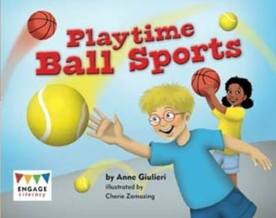 Playtime Ball Sports Pack of 6 by Anne Giulieri