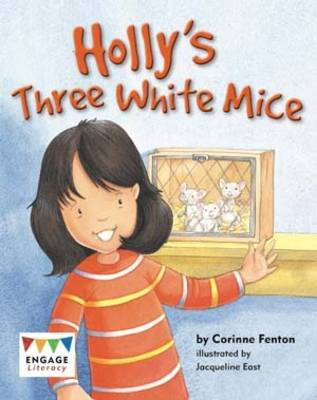 Holly's Three White Mice Pack of 6 by Corinne Fenton