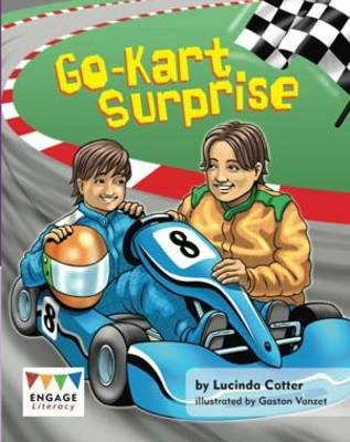 Go-kart Surprise Pack of 6 by Lucinda Cotter