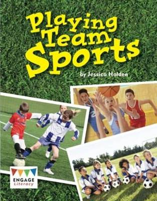 Playing Team Sports Pack of 6 by Jessica Holden
