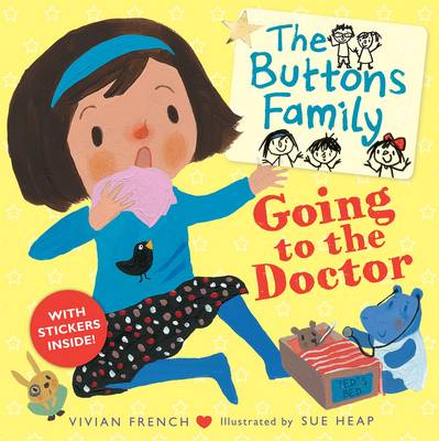 The Buttons Family: Going to the Doctor by Vivian French