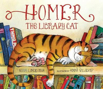 Homer, the Library Cat by Reeve Lindbergh