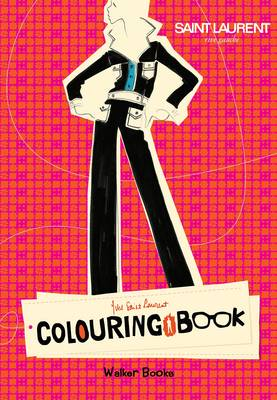 Yves Saint Laurent Rive Gauche Colouring Book by