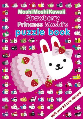 MoshiMoshiKawaii Strawberry Princess Moshi's Puzzle Book by