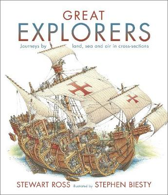 Great Explorers by Stewart Ross