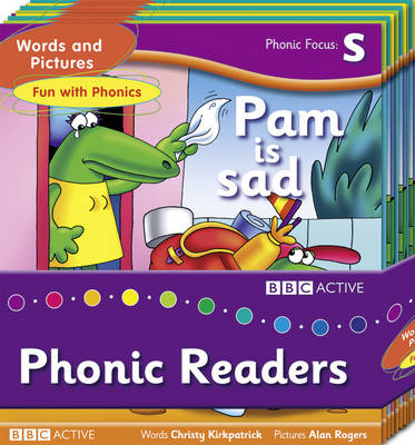 Words and Pictures Fun with Phonics Readers by