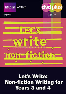 Let's Write Non-fiction Years 3 and 4 DVD Plus Pack by Judith Puddick
