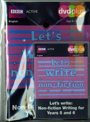 Let's Write Non-fiction Y5/6 DVD Plus Pack by Judith Puddick