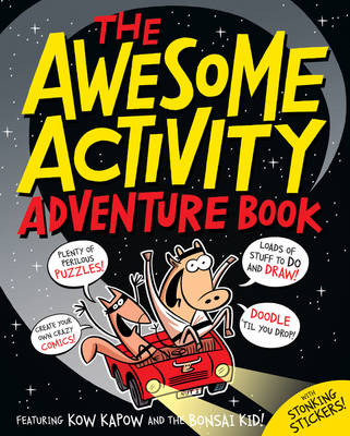 The Awesome Activity Adventure Book by Beach