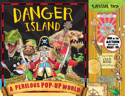Danger Island: Perilous Pop-up World by Graham Howells