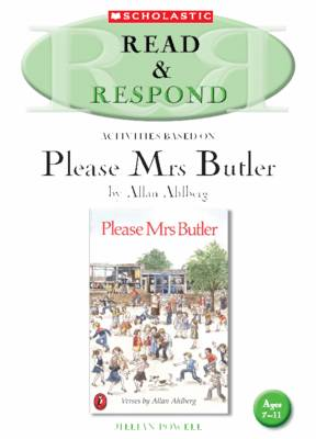 Please Mrs Butler Teacher's Resource Teacher's Resource by Jillian Powell