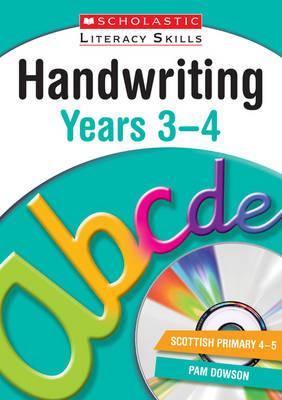 Handwriting Years 3-4 by Pam Dowson