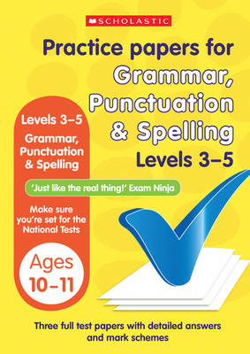 Grammar, Punctuation and Spelling Levels 3-5 by Lesley Fletcher