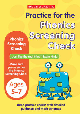 Phonics Screening Check by Wendy Jolliffe, John Bennett
