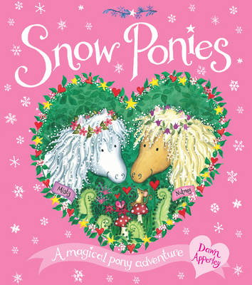 Snow Ponies by Dawn Apperley