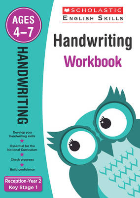 Handwriting Reception-Year 2 Workbook by Amanda McLeod