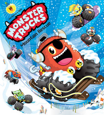 Monster Trucks: Mountain Rescue by Jonathan Hinton