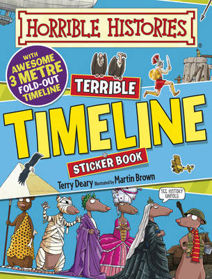 Terrible Timeline by Terry Deary