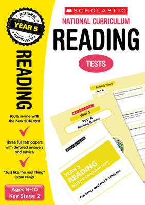 Reading Test - Year 5 by Lesley Fletcher, Graham Fletcher