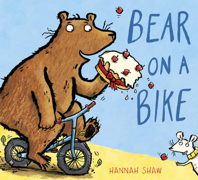 Bear on a Bike by Hannah Shaw
