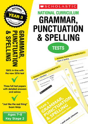Grammar, Punctuation and Spelling Test by Catherine Casey
