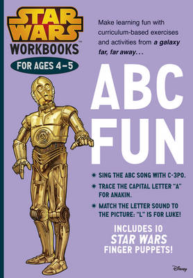 Star Wars Workbooks: ABC Fun Ages 4-5 by