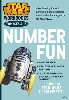 Star Wars Workbooks: Number Fun - Ages 4-5 by