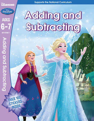 Frozen - Adding & Subtracting (Year 2, Ages 6-7) by