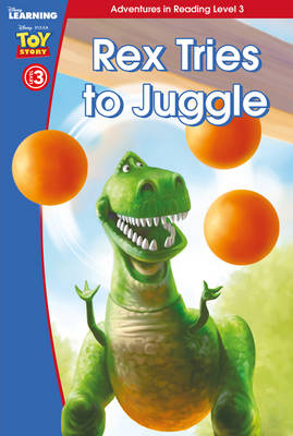 Toy Story: Rex Tries to Juggle by