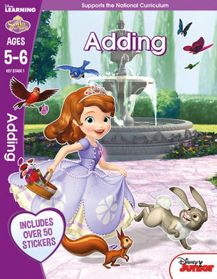 Sofia the First - Adding, Ages 5-6 by