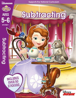 Sofia the First - Subtracting, Ages 5-6 by