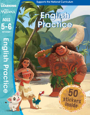 Moana - English Practice (Ages 5-6) by Scholastic