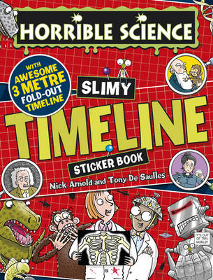 Slimy Timeline Sticker Book by Nick Arnold