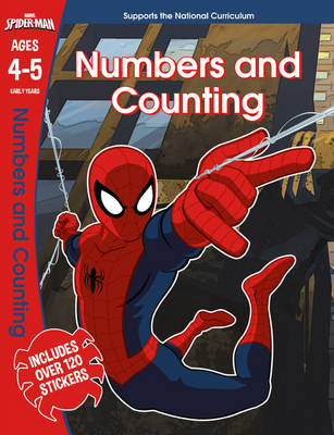Spider-Man: Numbers and Counting, Ages 4-5 by Scholastic