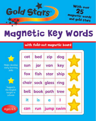Goldstars Magnetic Key Words by