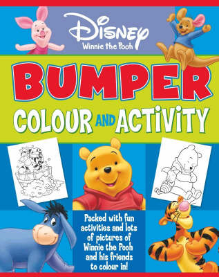 Disney Winnie the Pooh Bumper Colour and Activity by