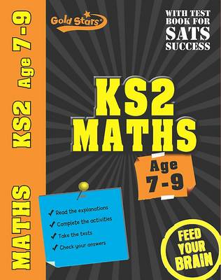 Gold Stars Workbooks KS2 Age 7-9 Maths by